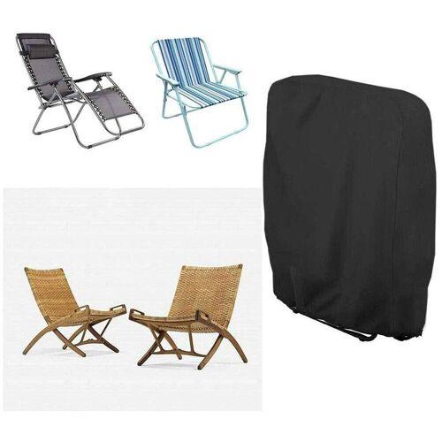 kueatily Angelliegen-Schutzhülle »Klappstühle Schutzbezug Klappbarer Liegestuhlbezug Wasserdicht Winddicht UV-beständig für Gartenliege Sonnenliege«
