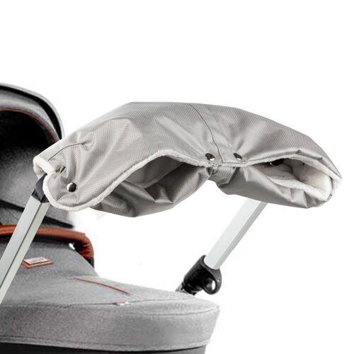ONVAYA Kinderwagen-Handwärmer »Kinderwagenmuff, Kinderwagen Handwärmer in grau oder Schwarz, Warme Handschuhe für den Kinderwagen«, Grau