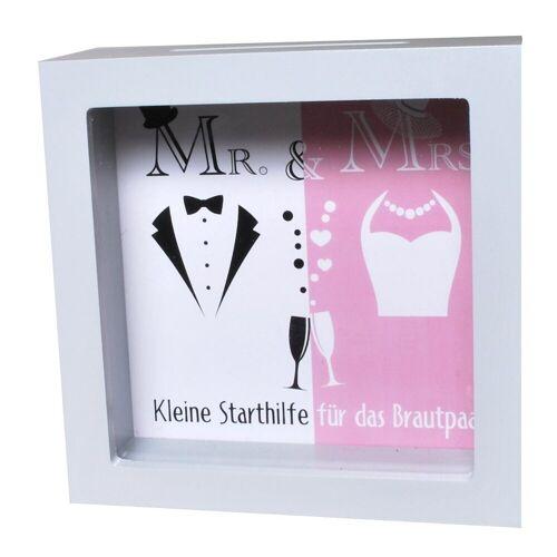 Udo Schmidt Bremen...das Original Spardose »Spardose Starthilfe / Brautpaar Sparschwein Sparkasse Hochzeit Hochzeitsgeschenk Heirat«