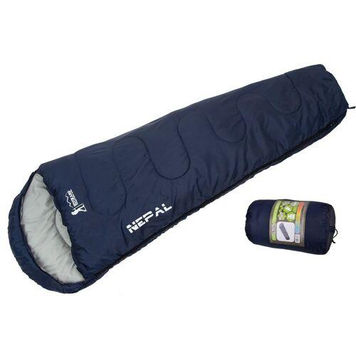 JOKA international Mumienschlafsack »Schlafsack / Mumienschlafsack blau 210x80x50cm«