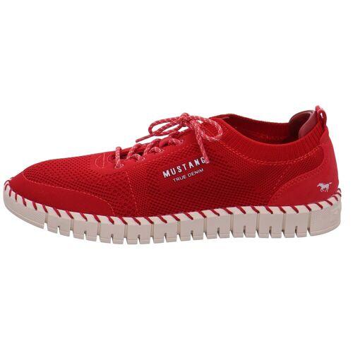 Mustang Shoes »Mustang Schnürschuhe rot« Schnürschuh