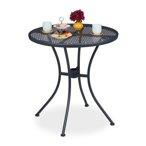 relaxdays Gartentisch »Gartentisch mit Schirmloch«