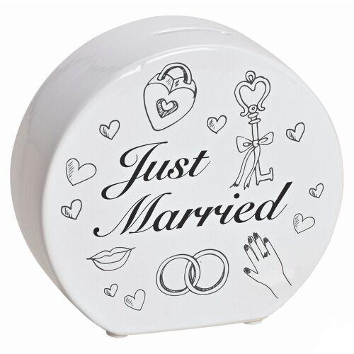 G. Wurm Spardose »Just Married - Die Spardose für die Hochzeit«
