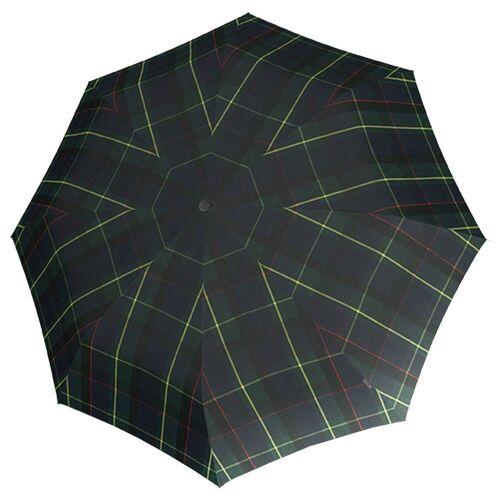 Knirps® Taschenregenschirm »T.200 M Duomatic Taschenschirm / Regenschirm«, check hunter