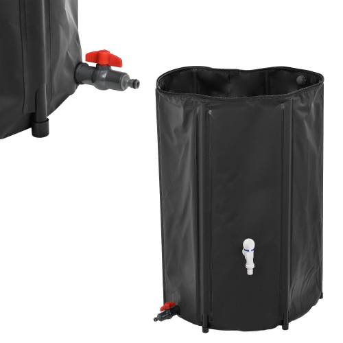 casa.pro Wassertank, Regentonne 250L Regenwassertank Regenwasserspeichern Regenwasserfass Zisterne