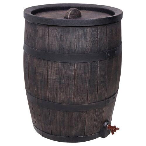 ONDIS24 Wassertank »Wasserfass Regentonne Regenwasserfass Eichenfass 120 Liter«, 120 liter