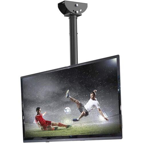 Fleximounts »CM1« TV-Deckenhalterung, (bis 55,00 Zoll, TV Deckenhalterung Schwenkbar Neigbar Fernseher Halterung 26-55 Zoll Monitorhalterungen Fernsehhalterung LED LCD Halter Flachbildschirm VESA 400x400 Belastung bis zu 30 kg max)