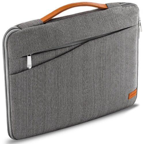 """deleyCON Businesstasche »Laptop Tasche bis 12"""" Zoll (30,4cm) Notebook Netbook MAC Grau«"""