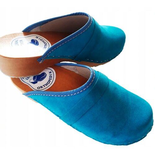 Cloque »Clogs geschlossen blau« Clog, blau