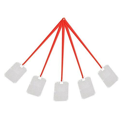 BigDean Fliegenmasken »5 x Fliegenklatsche Kunststoff 46 cm«