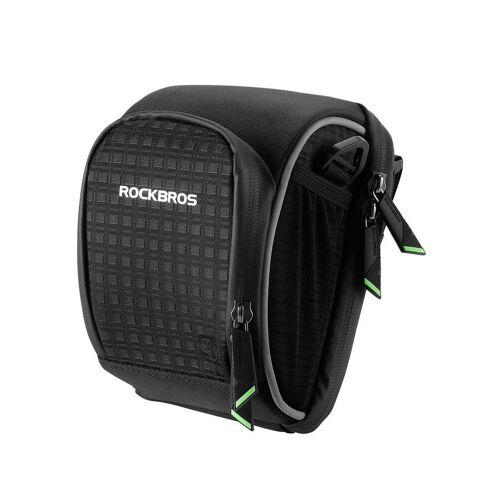 ROCKBROS Fahrradtasche »Fahrrad Rahmentasche Fahrradtasche mini Lenkertasche, schwarz«