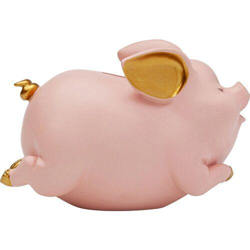 KARE Spardose »Spardose Happy Pig Rosa«