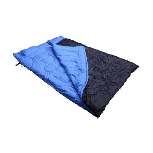 Outsunny Schlafsack »Doppelschlafsack mit Kissen«