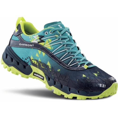 Garmont »9.81 Bolt« Wanderschuh, blau/gelb