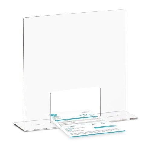 relaxdays Schutzwand »Spuckschutz Acrylglas«