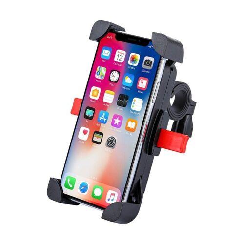 """cofi1453 »Universal Fahrrad Handyhalterung Handyhalter Smartphone Fahrradhalterung für Smartphones Handys bis 4,6-6,5"""" Schwarz« Smartphone-Halterung"""