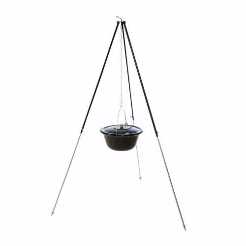acerto® Feuerstelle »Gulaschkessel 10L + Dreibein-Gestell (180cm)«