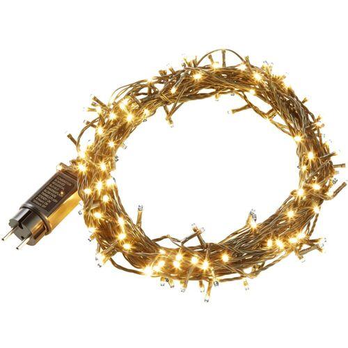 tectake Christbaumkerzen »Lichterkette Weihnachten«