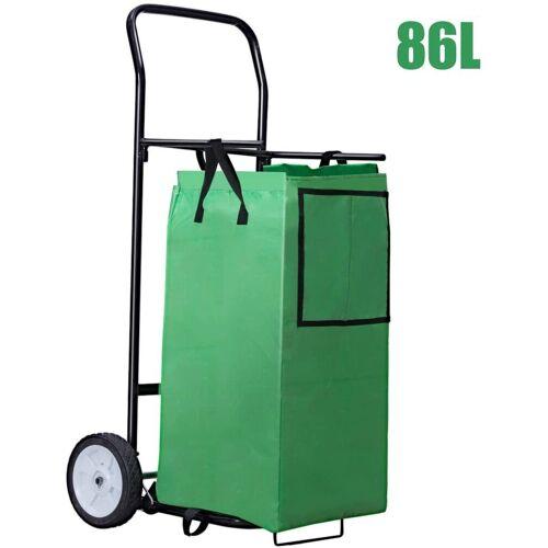 COSTWAY Einkaufstrolley »86L Einkaufswagen mit Abnehmbarer Einkaufstasche«, 86 l