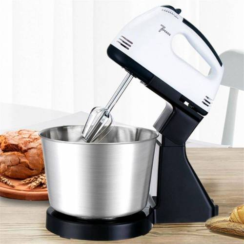 Gotui Elektrisches Rührwerk, 7 Speed ​​Electric Food Mixer Kuchen Teig Mixer Eier Beater