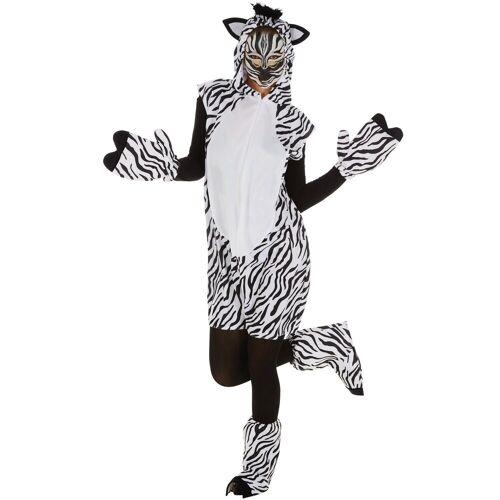 tectake Kostüm »Kostüm Zebra«