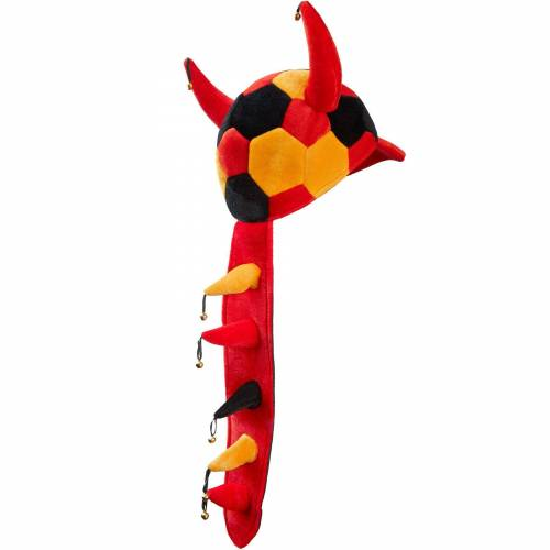 tectake Kostüm »Fußball Fan Cap«