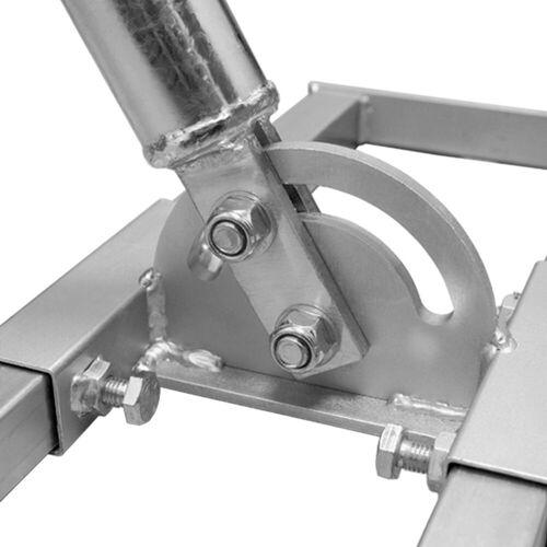 PremiumX »PROFI X100-48 SAT Dachsparrenhalter 100 cm Mast 48 mm Stahl feuerverzinkt Sparren-Halterung für Satelliten-Antenne Satellitenschüssel« SAT-Halterung