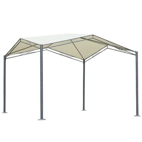 Outsunny Pergola »Pavillon mit Sonnenschutz«