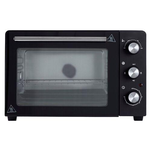 DESKI Minibackofen, Oberhitze, Unterhitze, Mini Backofen 30L Miniofen Ofen Oberhitze Unterhitze Timer Thermostat Pizzaofen
