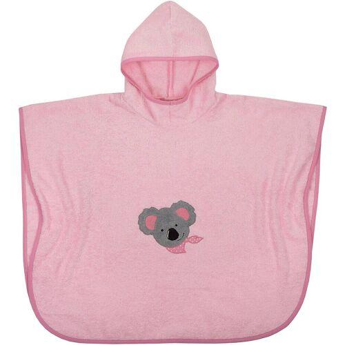 Wörner Badeponcho »Badeponcho Koala, rosa, 75x120 cm«, , rosa