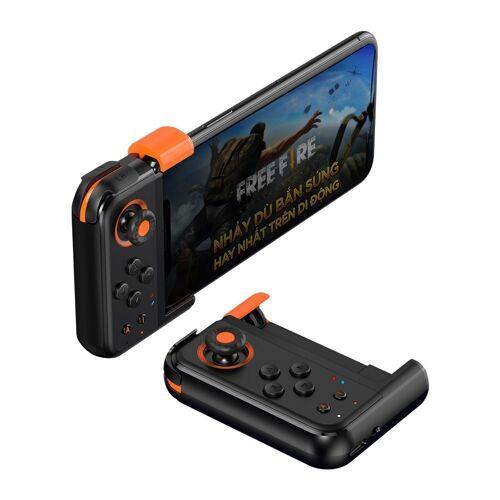 Baseus »Handyspiel Einhand-Gamepad kabelloser Game Mobile Controller Gamepad Joystick Pad für Smartphones Handy Android & iOS« Smartphone-Halterung