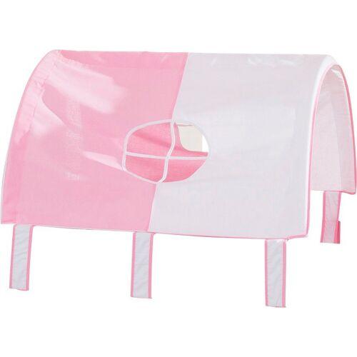 PAIDI Bettrolle »Spielzelt für Lotte & Fynn«, , Steiff by , rosa-weiß