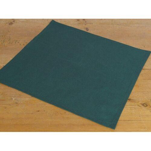 matches21 HOME & HOBBY Stoffserviette, »Textil Stoff Serviette grün einfarbig 45x45 cm«,