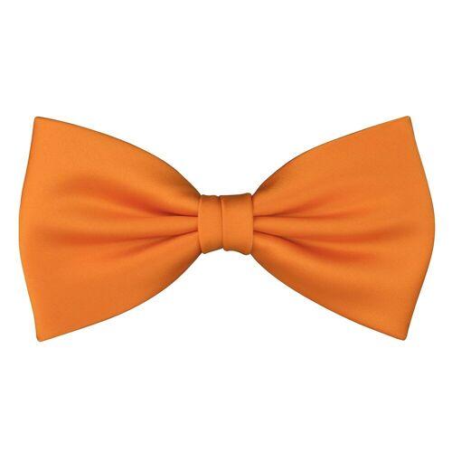 Skipper Fliege »Herren Fliege Schleife Schlips 8575«, Orange