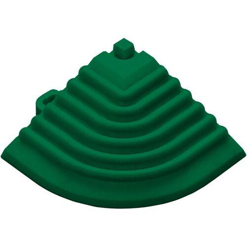 florco® Klickfliesen-Eckleiste, Eckteil grün, 40 cm