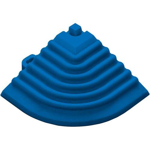 florco® Klickfliesen-Eckleiste, Eckteil blau, 40 cm