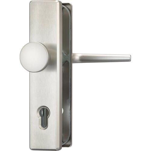 ABUS Schutz-Drückergarnitur »HLS214 F9 EK«, Knauf außen, für Haustüren