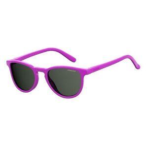 Polaroid Kinder Sonnenbrille »PLD 8029/S«, MU1/M9 - lila/grau