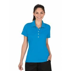 Trigema Funktions-Poloshirt COOLMAX®, aqua