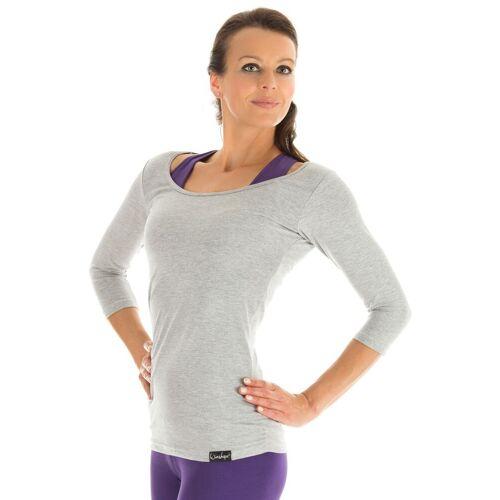 Winshape 3/4-Arm-Shirt »WS4«, grau