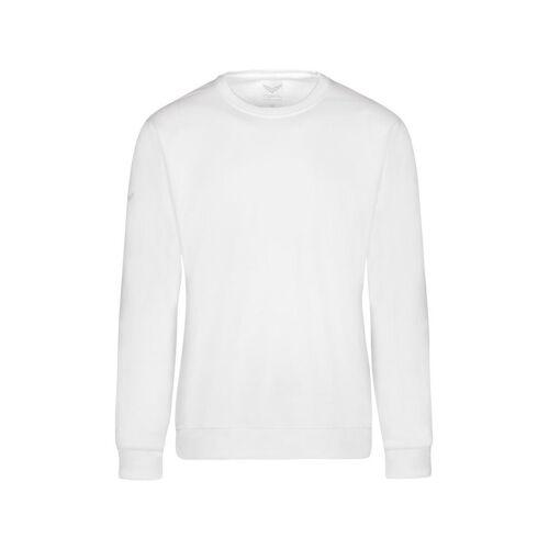 Trigema Sweatshirt, weiss