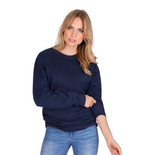 Trigema Sweatshirt, navy