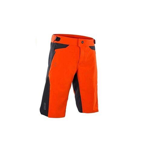 ION Fahrradhose »Scrub Mesh Herren Fahrradhose orange«
