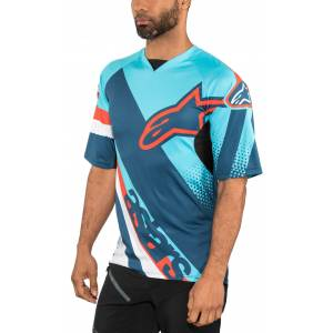 Alpinestars T-Shirt »Racer Kurzarm Trikot Herren«, blau