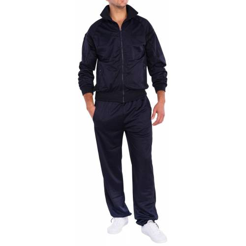 Egomaxx Trainingsanzug »1460«, Trainingsanzug Isports, Blau