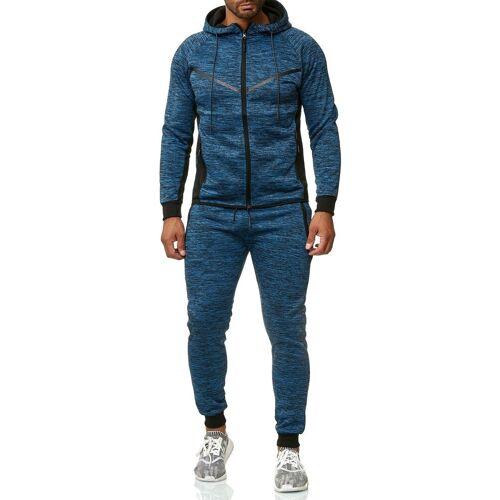 Max Men Trainingsanzug »2539«, Herren Trainingsanzug NEWYORK, Blau