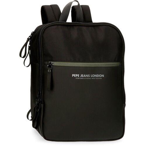 Pepe Jeans Laptoprucksack »Sail, schwarz«, mit USB-Anschluss