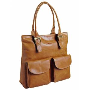 Greenburry Shopper, cognac