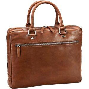Leonhard Heyden Laptoptasche »Cambridge 5260 RV-Aktenmappe S 1 Fach«, Cognac