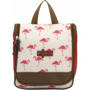 F23™ Kulturbeutel »Flamingo«, zum Aufhängen